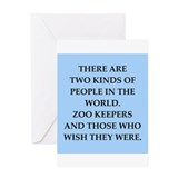 ZOO Greeting Card