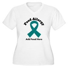 Personalized Food Allergy T-Shirt
