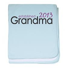 New Grandma Est 2013 baby blanket