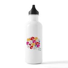 Flower Power Patch Water Bottle