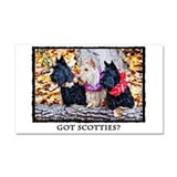 Got Scotties? Car Magnet 20 x 12