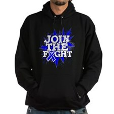 Join The Fight Colon Cancer Hoodie