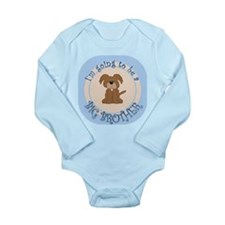 Puppy Going To Be Big Brother Long Sleeve Infant B