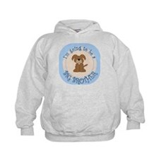 Puppy Going To Be Big Brother Hoodie