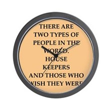 house keeper Wall Clock