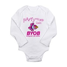Party At My Crib Body Suit