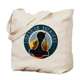 Librarian Avengers logo Tote Bag