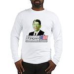 Zombie Reagan for President Long Sleeve T-Shirt