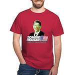 Zombie Reagan for President Dark T-Shirt
