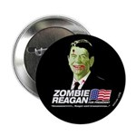 Vote Zombie Reagan in 2008 Button