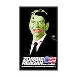 Vote Zombie Reagan in 2008 Rectangle Sticker