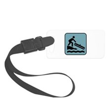 River Rafting Luggage Tag