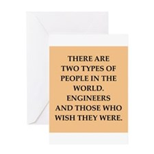 engineers Greeting Card