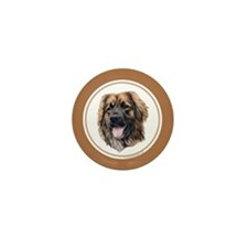 Leonberger Mini Button