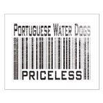 Portuguese Water Dogs Small Poster