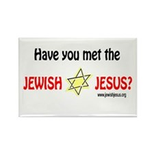 Jewish Jesus Rectangle Magnet (10 pack)