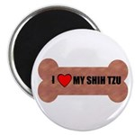 I LOVE MY SHIH TZU BONE LOOK Magnet