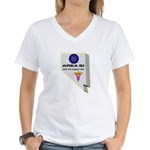 Alien Life Support Women's V-Neck T-Shirt