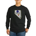 Alien Life Support Long Sleeve Dark T-Shirt