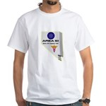 Alien Life Support White T-Shirt
