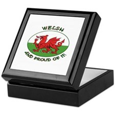 ...Welsh And Proud... Keepsake Box
