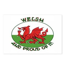 ...Welsh And Proud... Postcards (Package of 8)