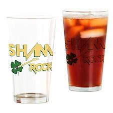 Sham Rock Drinking Glass