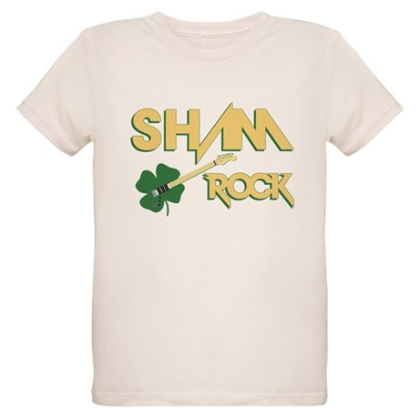 Sham Rock Organic Kids T-Shirt