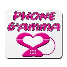 phone g'amma Mousepad