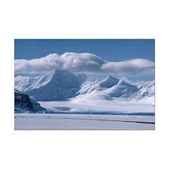 Coronation Island - Antarctic Mini Poster Print