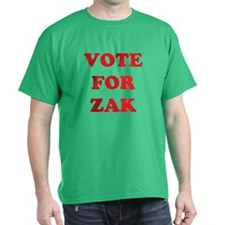 VOTE FOR ZAK T-Shirt
