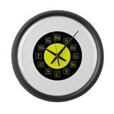 Cool Nerd Large Wall Clock