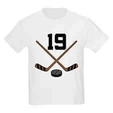 Hockey Player Number 19 T-Shirt