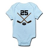 Hockey Player Number 25 Onesie