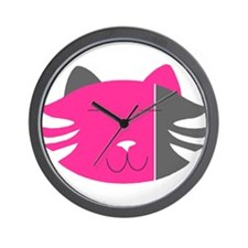 Cute Harajuku girl Wall Clock
