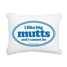 I Like Bit Mutts And I Cannot Lie Rectangular Canv