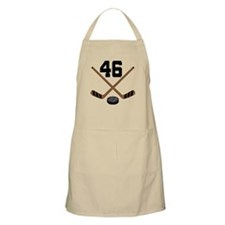 Hockey Player Number 46 Apron