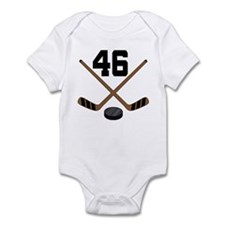 Hockey Player Number 46 Infant Bodysuit