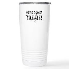 Here Comes Treble Travel Mug