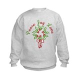 Peace Love Joy Sweatshirt