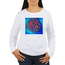 Buckyball molecule, artwork - T-Shirt