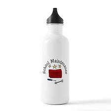 School Maintenance Water Bottle