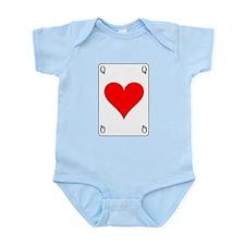 Queen of Hearts Infant Bodysuit