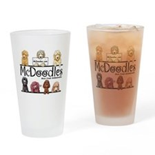 Goldendoodle McDoodles Drinking Glass