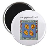 Happy Hannukah Magnet