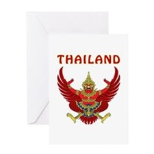 Thailand Coat of arms Greeting Card