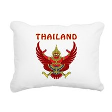 Thailand Coat of arms Rectangular Canvas Pillow