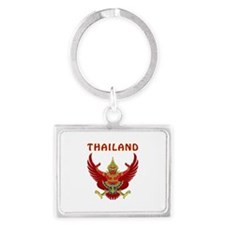 Thailand Coat of arms Landscape Keychain