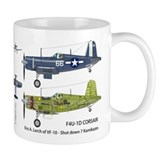 F4U Corsair USS Intrepid CV-11 Mug