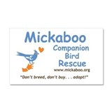 Cute Mickaboo Car Magnet 20 x 12